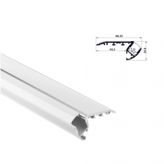 RL-6728 Aluminum Step Extrusion for Staircase Lighting