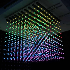 ADDRESSABLE LED BALL STRING DMX FLEXIBLE LED STRIP LIGHTS CUBE